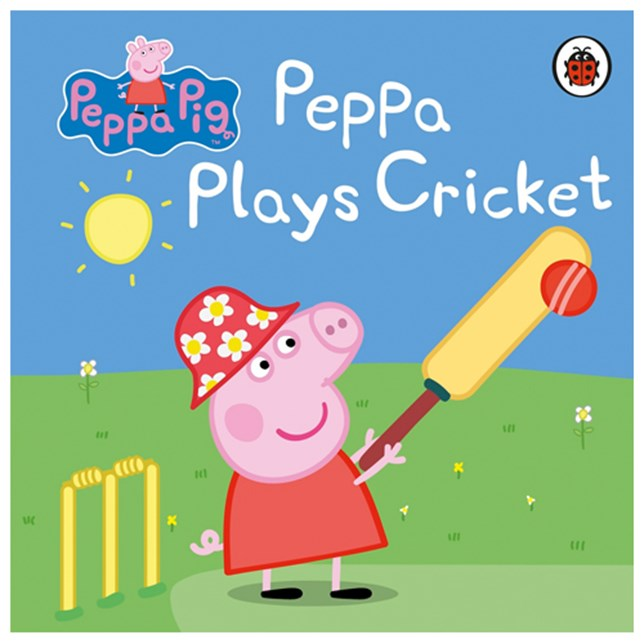 Peppa Plays Cricket book