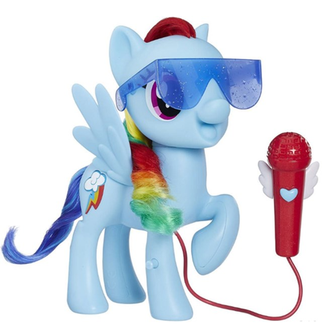 My Little Pony toys - Singing Rainbow Dash from Target