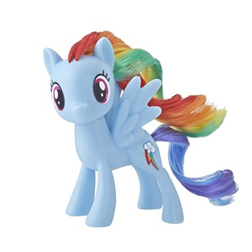 mylittlepony0001 - My Little Pony toys - My Little Pony Mane Pony Rainbow Dash Classic Figure