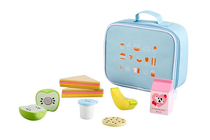 Wooden Lunch Kit. Image: Kmart