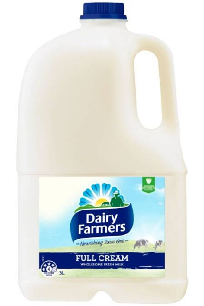 Dairy Farmers have recalled their 1L and 3L full cream milks.
