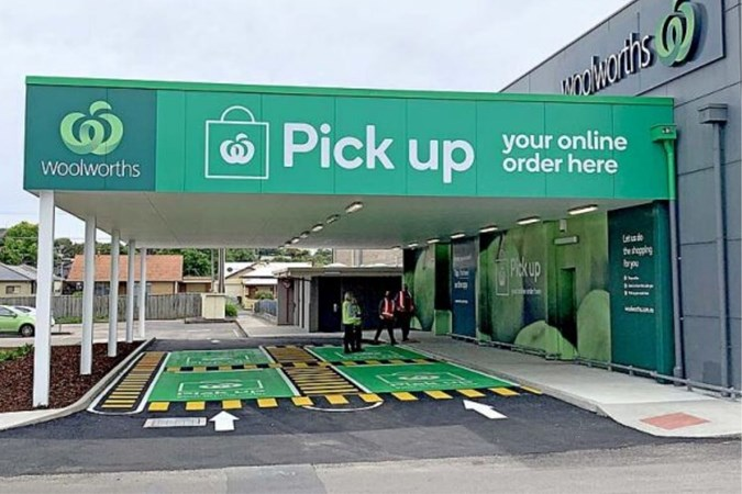 Woolworths has over 100 Drive Thru stores. Image: Woolworths.
