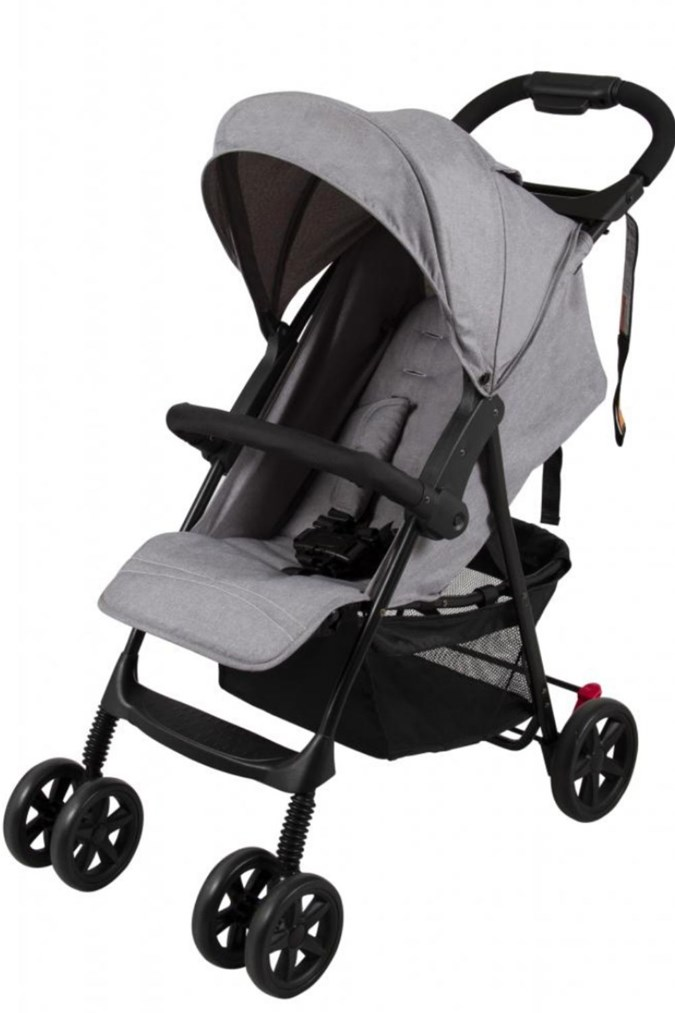 The Childcare Stroller Grey. Image: ACCC