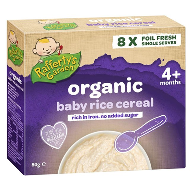 Organic Baby Rice Cereal